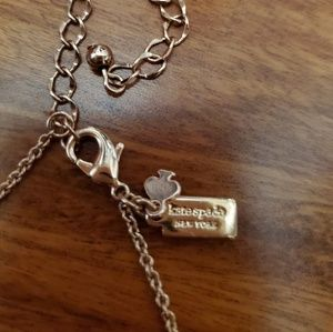 kate spade Jewelry - Kate Spade Rose Gold Necklace